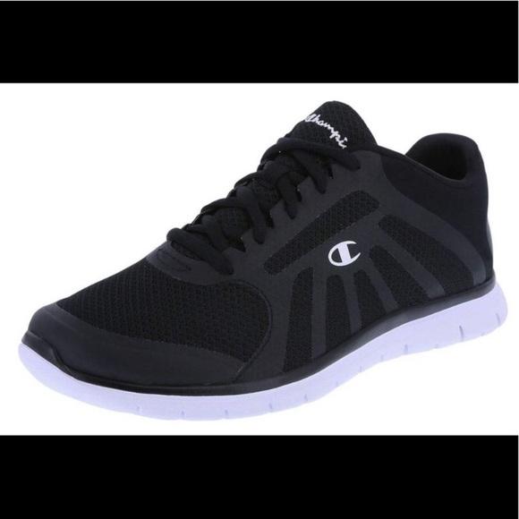 Champion Black White Womens Sneakers